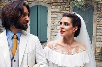 Carlota Casiraghi y Dimitri Rassam celebran su matrimonio religioso