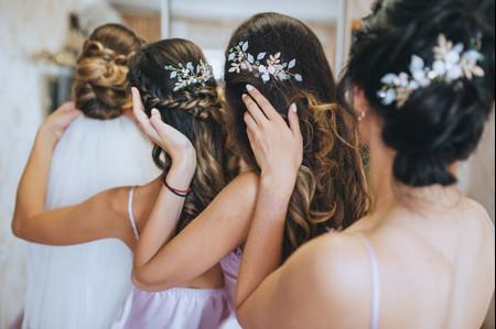 Peinados para damas de honor a los que no podrán resistirse