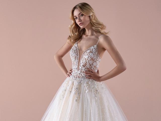 Romance 2020: vestidos para novias que se sienten princesas