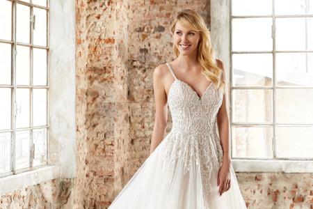 Inspírate este 2020 con los vestidos de novia de la firma Eddy K.