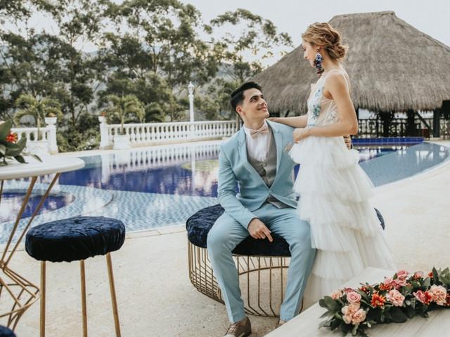 ¿Cómo organizar un matrimonio de estilo cóctel?