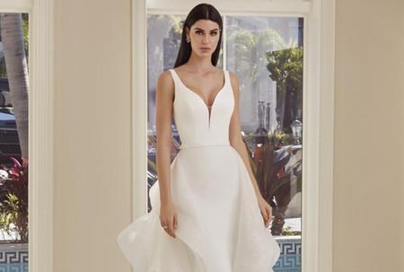 Vestidos de novia desmontables, ¡acierta con un dos en uno!