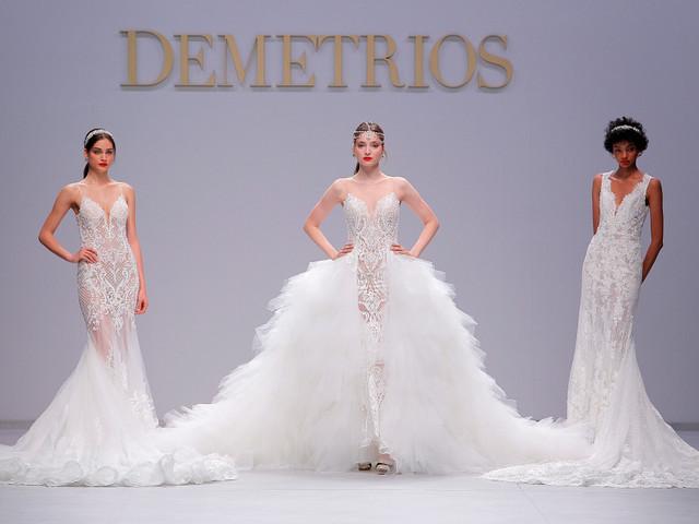 Demetrios 2020: vestidos de novia como salidos de cuentos de princesas