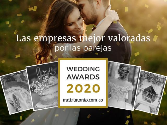 ¡Tenemos los ganadores de la 2ª edición de los Wedding Awards 2020!