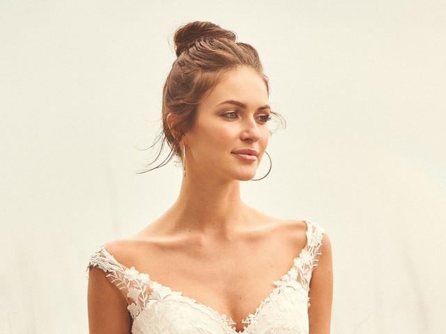 Peinados con moños para novia: ¡lleva tu cabello con mucho estilo!
