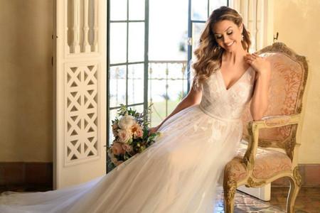 80 vestidos de novia corte A que no te puedes perder por nada del mundo