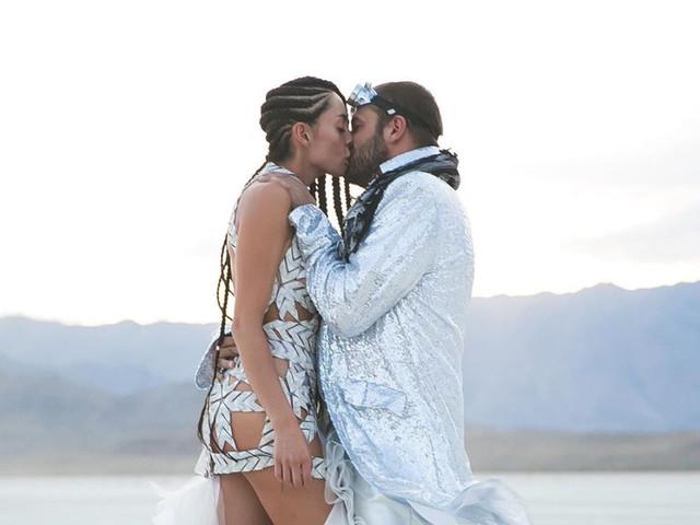 El excéntrico matrimonio de Carolina Guerra y David Reuben