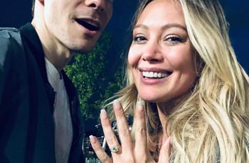 La cantante Hilary Duff se compromete