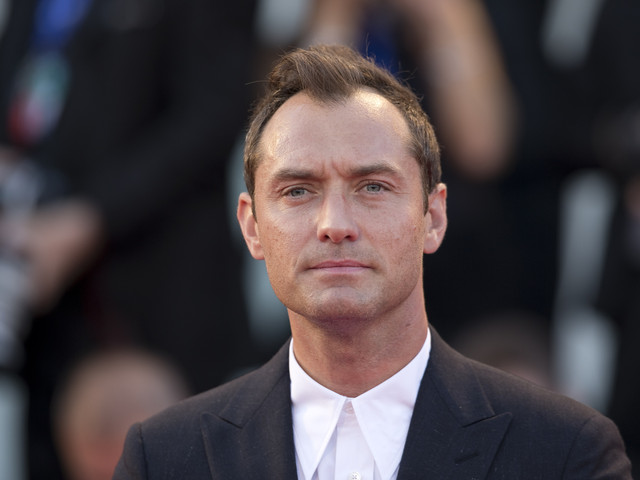 El actor Jude Law  y su reservado matrimonio