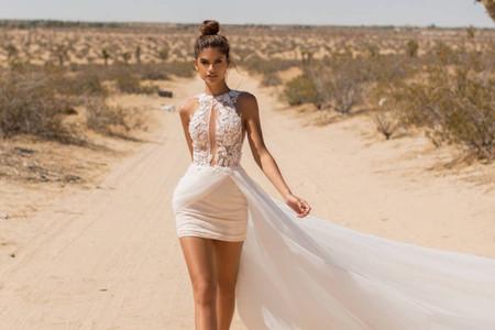 30 vestidos de novia cortos 2020: ¡diseños sensacionales!