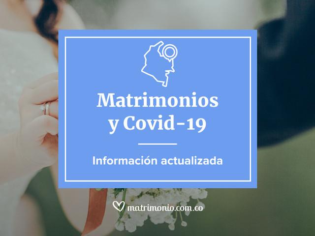 ¿Próximos a casarse? Esto es lo que necesitan saber sobre la covid-19 y el matrimonio