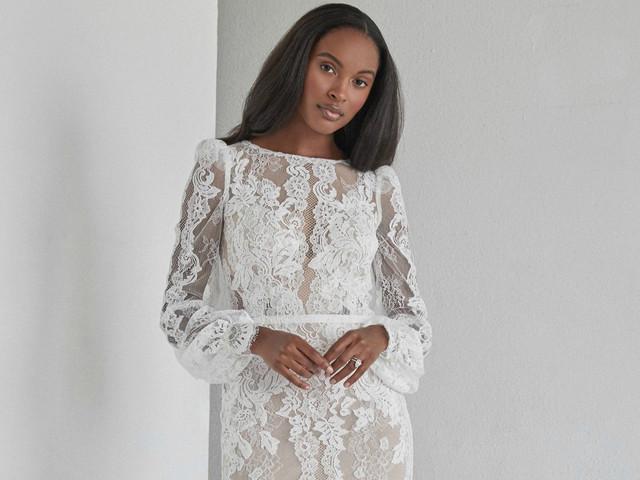 ¿Tu clave para triunfar en la boda? La respuesta está en los vestidos de novia con encaje
