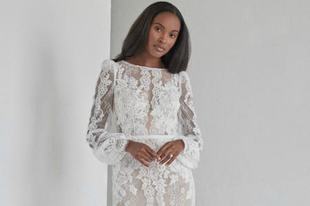Vestidos de novia con encaje: la clave para triunfar en la boda
