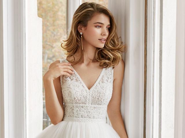 Diferentes tipos de escote para vestidos de novia: ¿cuál será el tuyo?