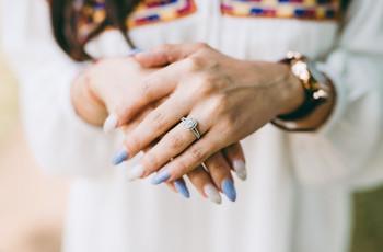 Precios de anillos de compromiso: el cálculo para ajustar el presupuesto