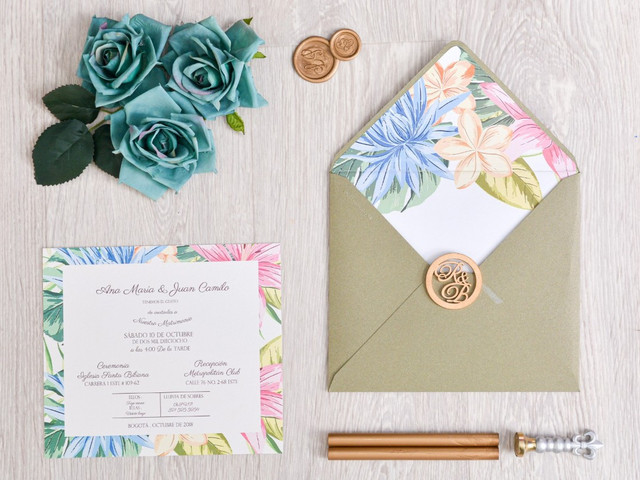35 tarjetas de matrimonio modernas