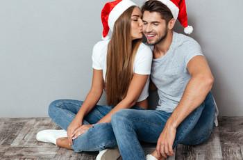 Pasen la primera Navidad como esposos con buena energía y diviértanse