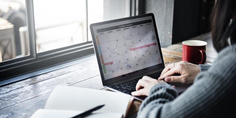 organizar el matrimonio con apps en el computador