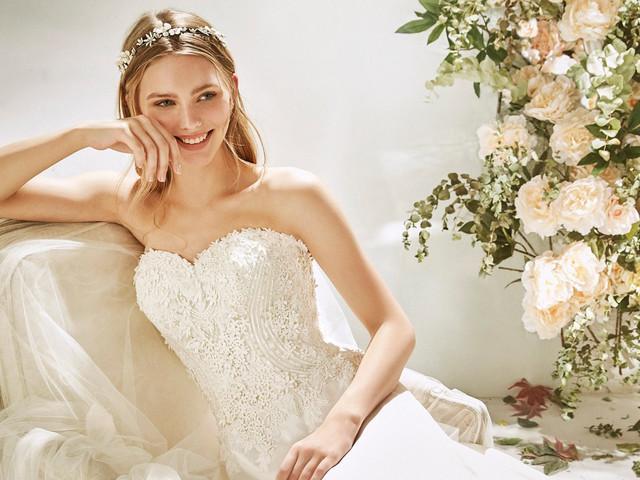 Magia y romance en los vestidos de novia St. Patrick La Sposa 2020