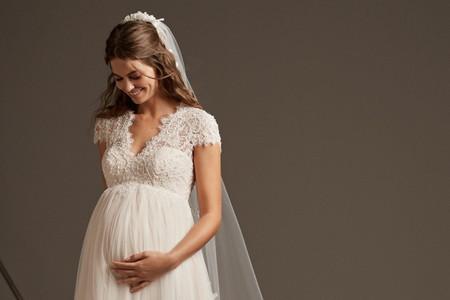 Vestidos de novia para embarazadas: los tips que no puedes dejar de leer
