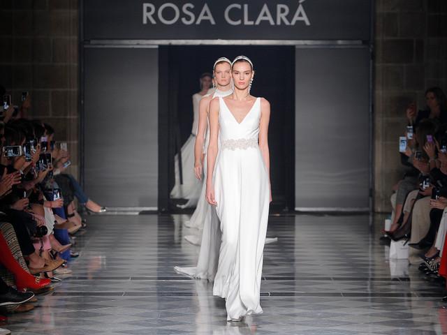 Rosa Clará presenta su colección de vestidos de novia 2020 en VBBFW