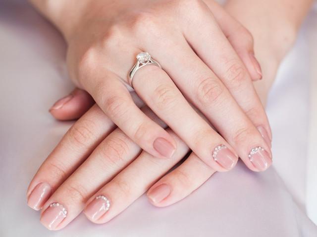 Ideas para el decorado de uñas para matrimonio