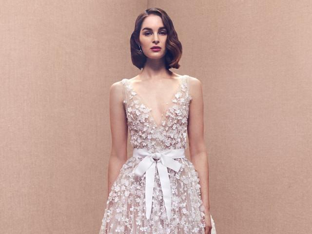 No te pierdas la nueva colección de vestidos de novia Óscar de la Renta 2020