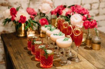 ¿Cómo crear un coctel exclusivo para la boda?