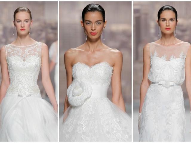 Colección Rosa Clará 2015 en el Barcelona Bridal Week