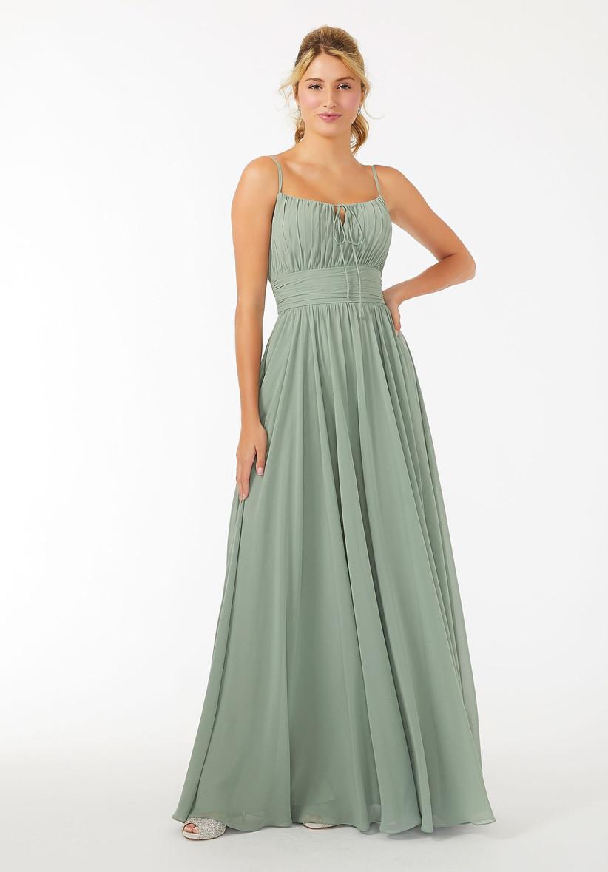 vestido para fiesta tirantes color verde oliva