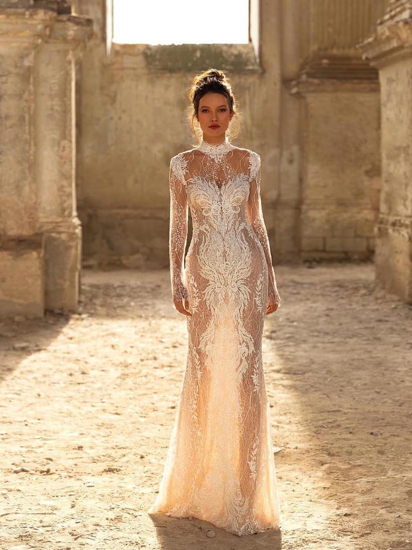 vestido de novia tattoo lace sensual