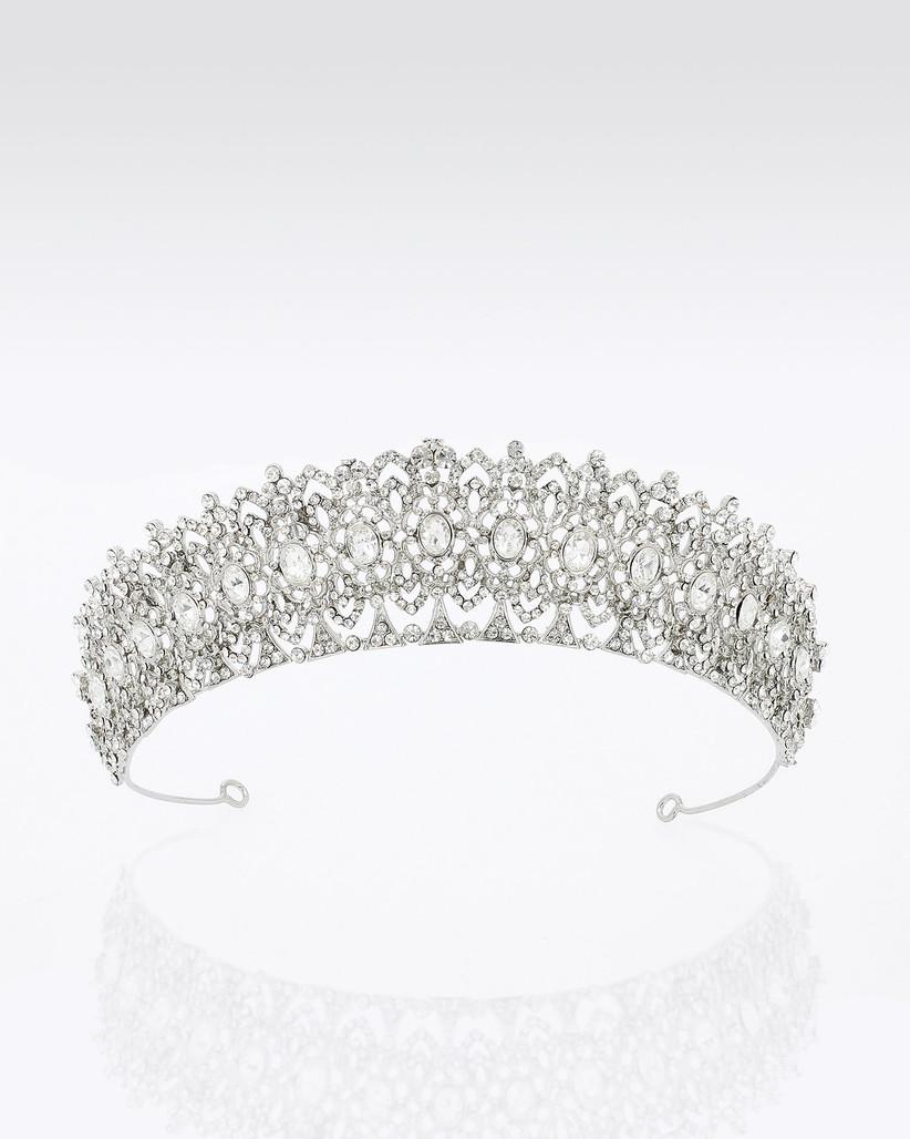tiara de brillantes para novia