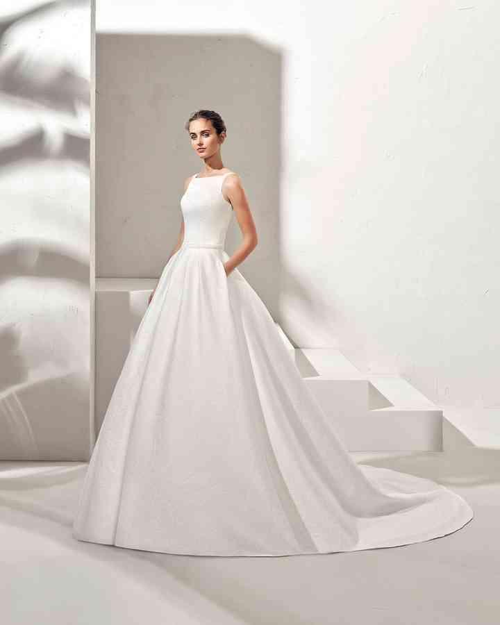 extraño Polvoriento heroico  80 vestidos de novia sencillos: románticos y muy seductores