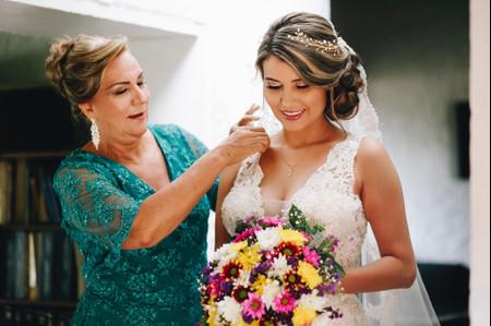 9 formas de decir '¡Gracias, mamá!' el día de la boda