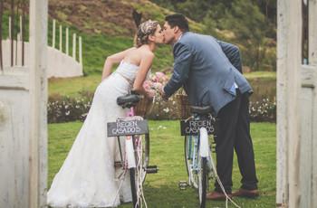 Temática de bicicletas para matrimonio: 8 ideas con mucho encanto
