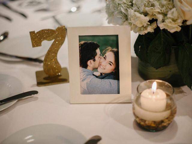 Incluir fotografías en la decoración para matrimonio