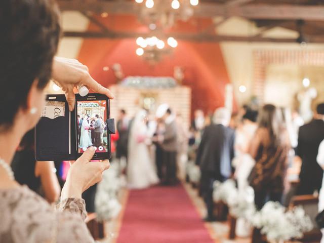 Consejos para compartir su boda en las redes sociales