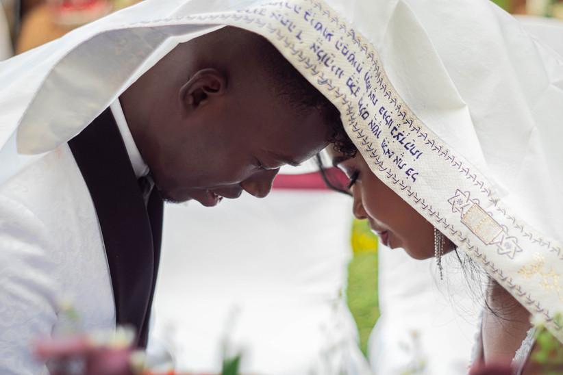 ceremonia judía de novios
