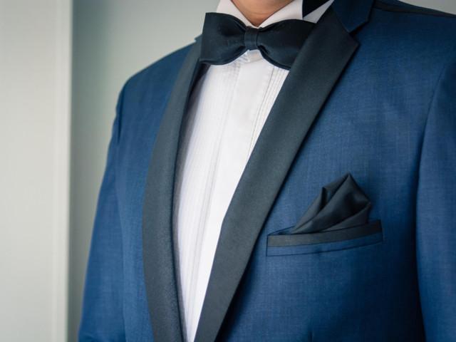 Corbata o corbatín para la boda: sus diferencias y cómo usar cada opción
