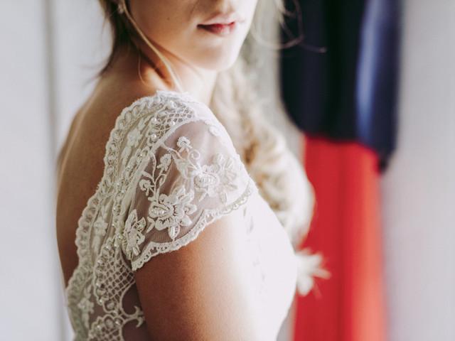 ¿Qué tipos de tela se usan para los vestidos de novia?