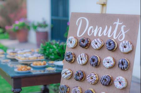 ¿Cómo incluir donuts en el matrimonio?