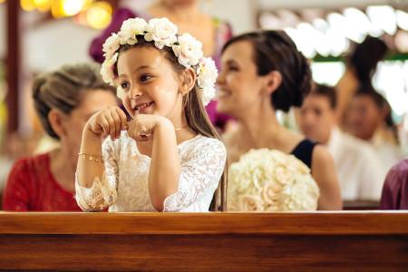 Peinados para pajecitas de matrimonio