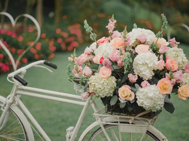 60 ideas de arreglos florales para boda