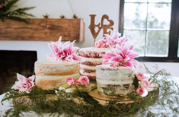 ¿Cómo ahorrar dinero en el pastel de boda?