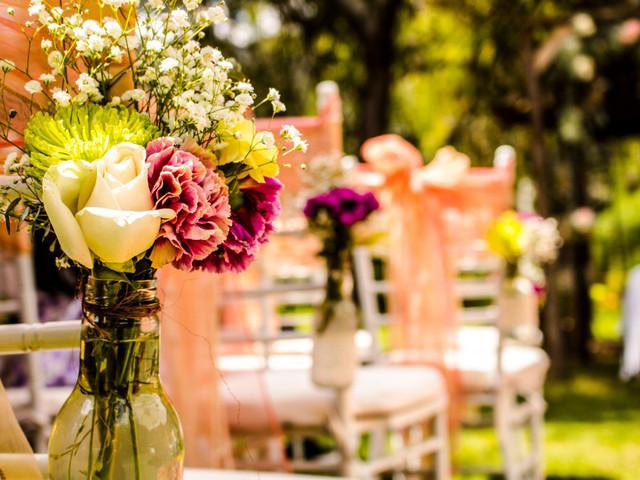 Las 10 reglas de la decoración floral para matrimonio