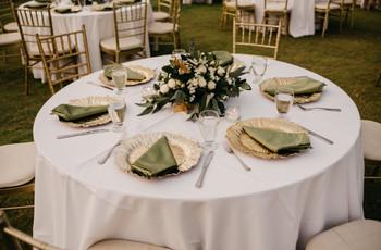 Cómo decorar una mesa redonda para boda