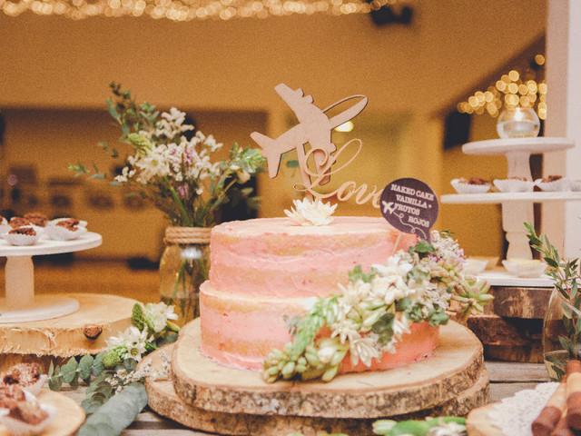 'Cake toppers' para su torta de matrimonio