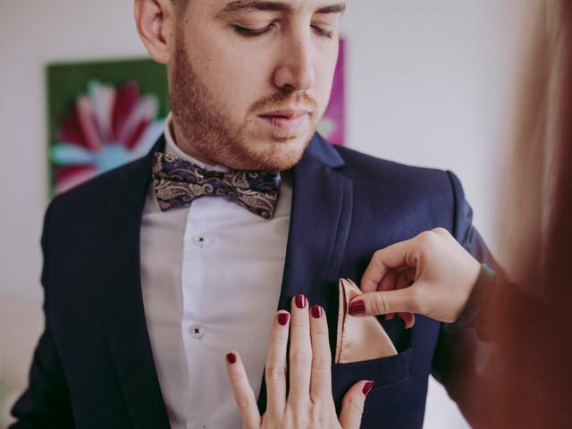 Pañuelo de bolsillo para traje de novio