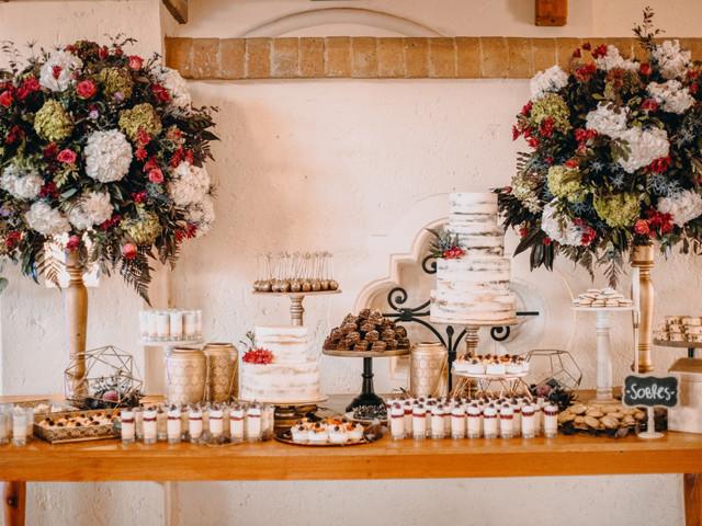 Mesa de dulces para boda o 'candy bar' ¡renovada!
