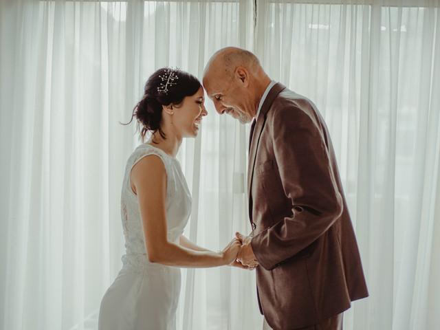 Los papás en el matrimonio... ¡un apoyo incalculable!